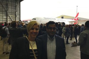 Keren-Rambow-GE-first-B787-being-delivered-in-the-Qantas-Hangar