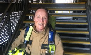 Kristin-Fire-Fighter-stairs