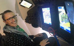 Women-in-Aviation-Carly-Scott-in-Boeing-Space-module-simulator-NASA-2019