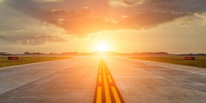 Women-in-Aviation-Runway-with-sunsetting