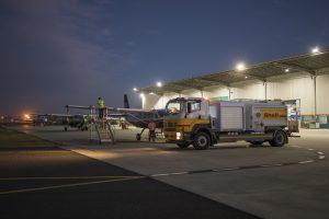 women in aviation BKK Shell refueller